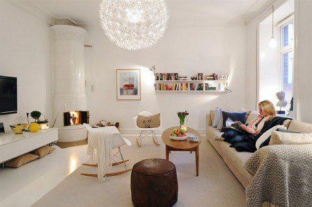 Красивая квартира в Швеции