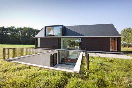 Красивый минималистский дом