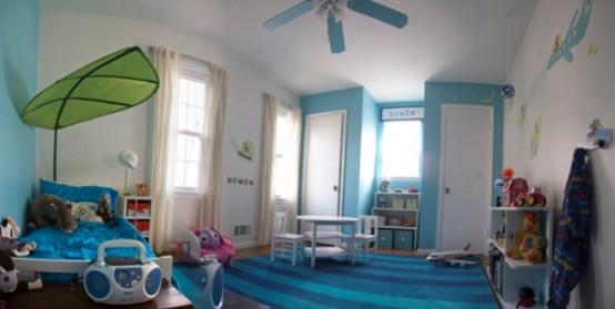Не дорогостоящая детская комната