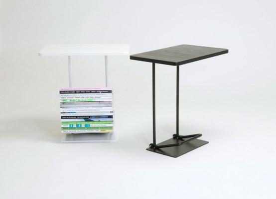 Практичный современный столик