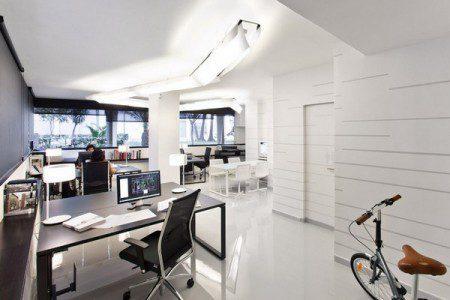 Свежий и современный дизайн офиса
