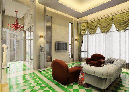 Квартира-сочетание в Китае