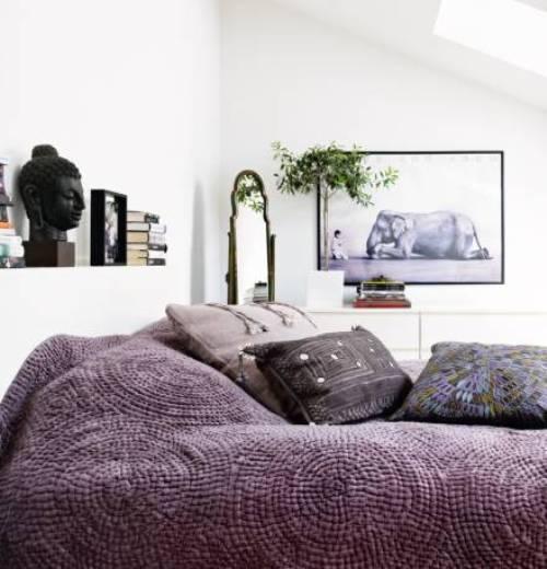 Квартира в традиционных скандинавских цветах