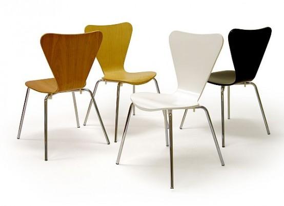 Обычные стулья для дома