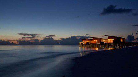 Прекрасная вилла на Мальдивах