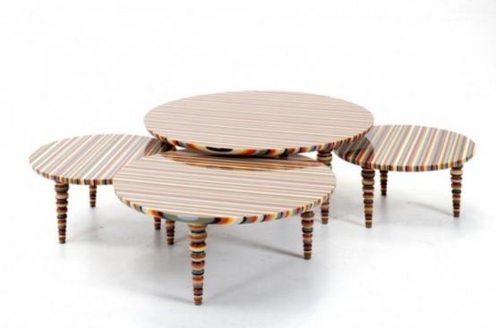 Современная мебель в радуге цветов