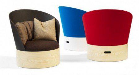 Стильное и удобное кресло