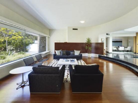 Стильный дом, наполненный гламуром шестидесятых