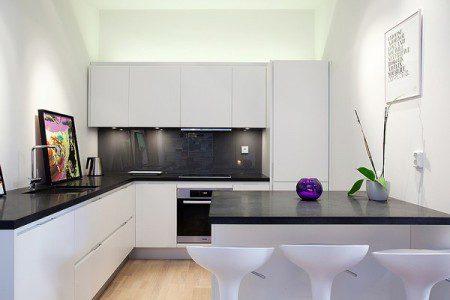 Трехкомнатная квартира в Стокгольме