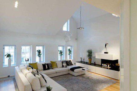 Удивительная квартира в Стокгольме