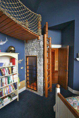 Уникальный дизайн интерьера спальни