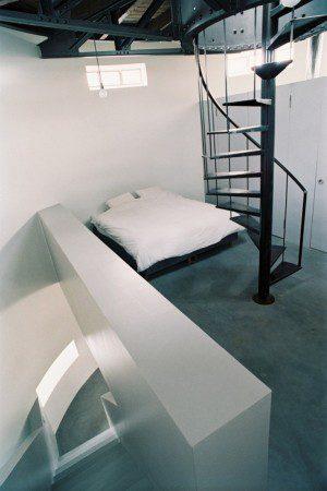 Водонапорная башня, измененная под стильные апартаменты