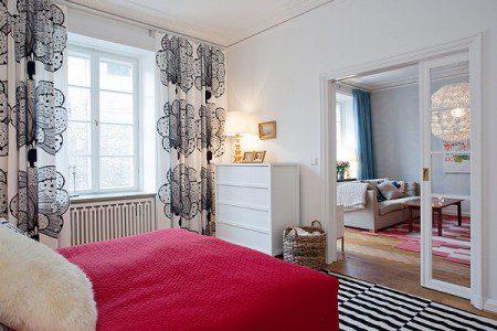 Восхитительная квартира, всплески цветов и энергии