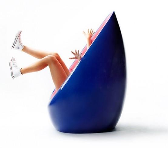 Яйцевидный стул от Карима Рашида