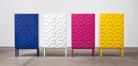 Яркие шкафчики