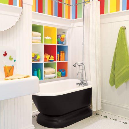 9 Симпатичных детских украшений для ванной комнаты