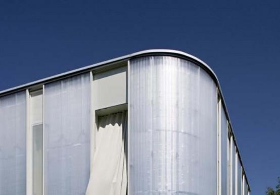 Нестандартный архитектура - интересный домик