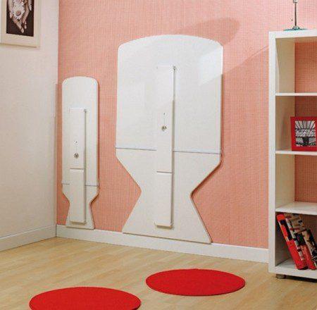 Практичный выдвижной сет мебели