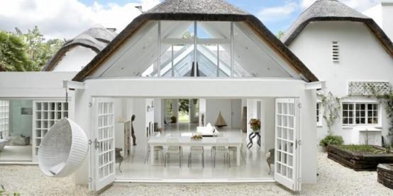 Расслабляющий дом открытого плана
