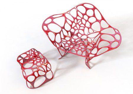 Впечатляющий дизайн мебели от Peter Donders
