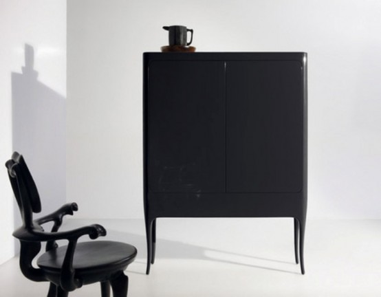Гламурная мебель для ванной комнаты