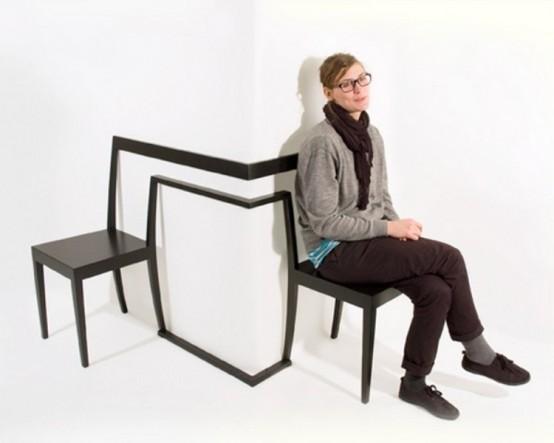 Красивый и нестандартный предмет мебели