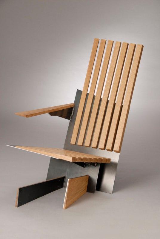 Минималистская мебель из различных пород дерева