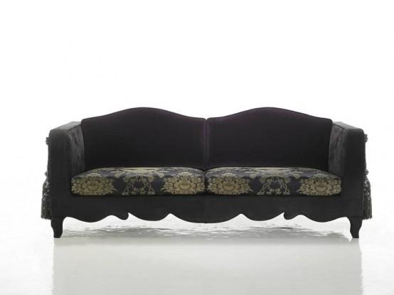 Рафинированная коллекция мебели для любителей экстравагантности