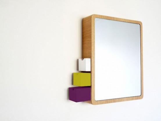 Стильной и функциональное зеркало для вашей ванной комнаты