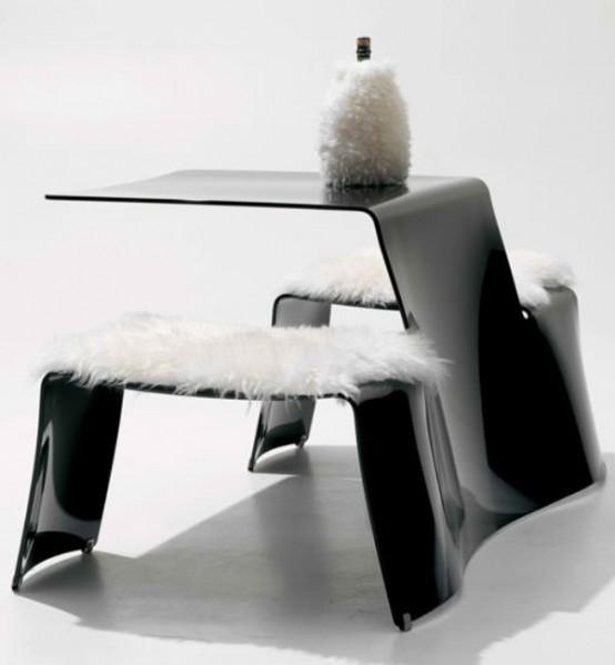 Стол и скамья для вашего сада