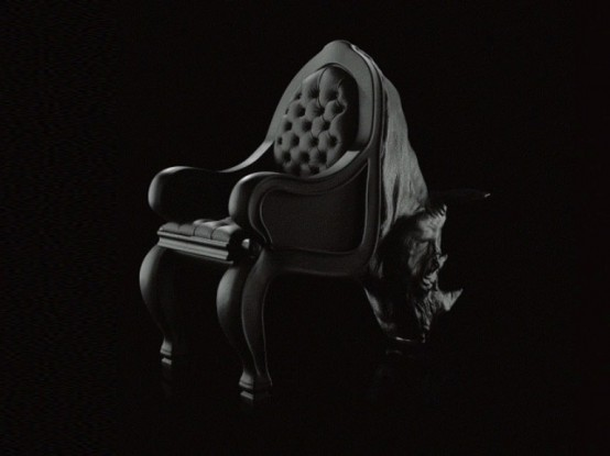 Сумасшедшие стулья в форме животных