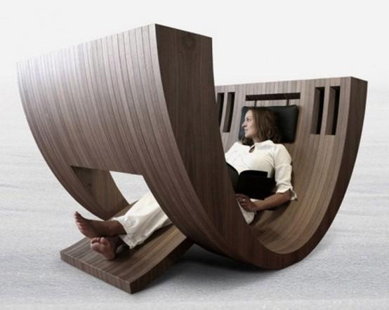 Кресло для отдыха и уголок читателя