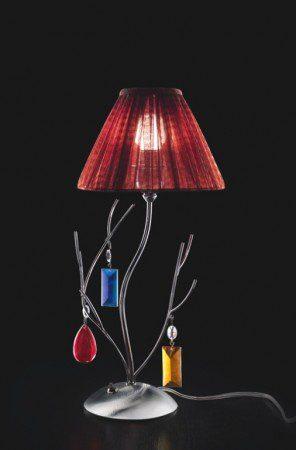 Лампы с подвесками из муранского стекла