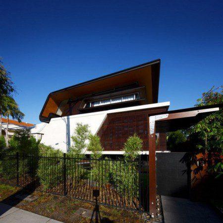 Необычные детали архитектуры в штате Квинсленд: Oxlade House