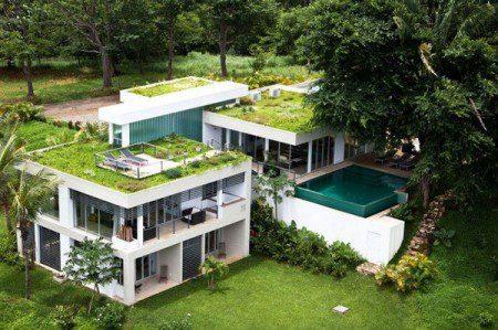 Новый зеленый дом в Коста-Рике
