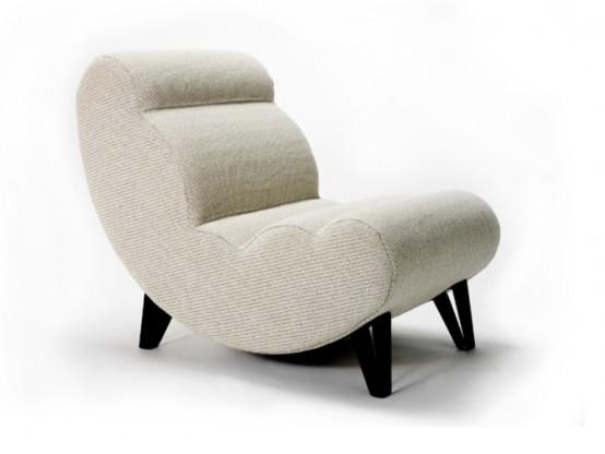 Стильное современное кресло