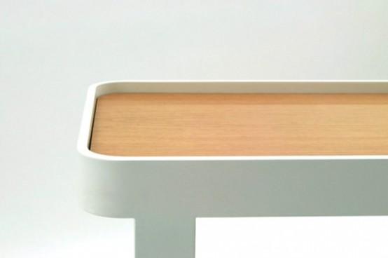 Функциональная мебель из натурального дерева