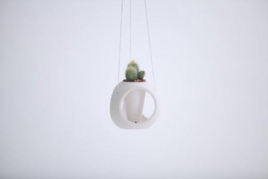 Минималистский горшок для растений