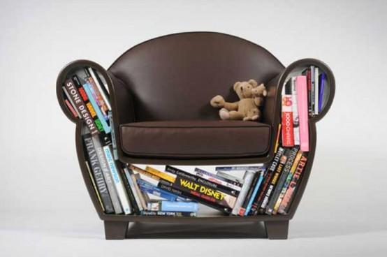 Функциональное и компактное кресло для любой гостиной