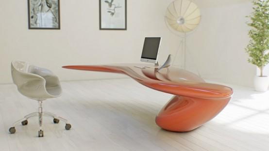 Акриловые столы для офиса