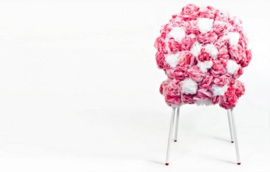 гламурный стул