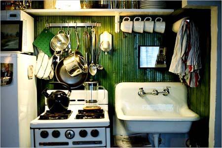 13 идей небольшой кухни 5
