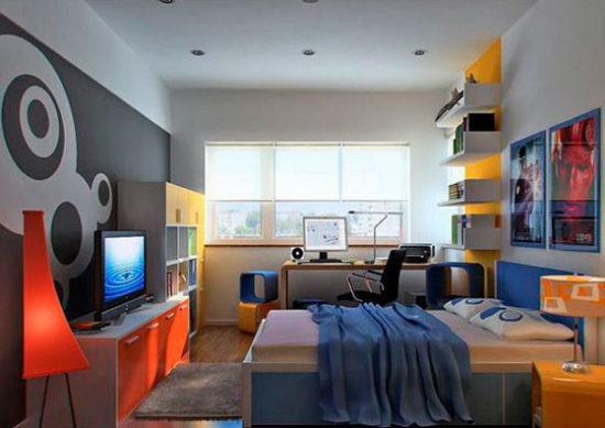 комната юноши