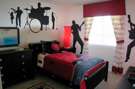 дизайн комнаты парня 20 лет