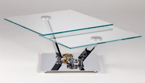 Футуристический стол: коллекция с механизмами