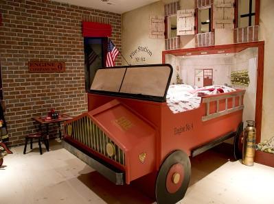 дизайн комнаты пожарника мальчика