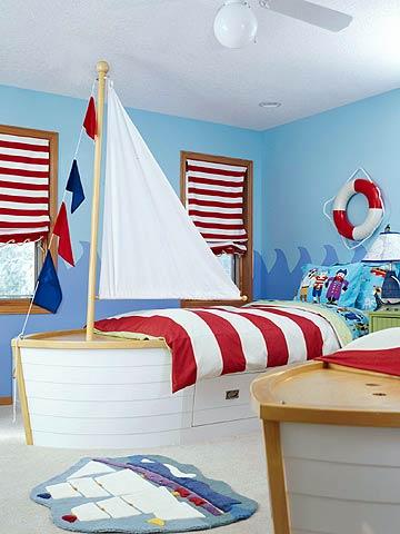 комната для мальчика пирата