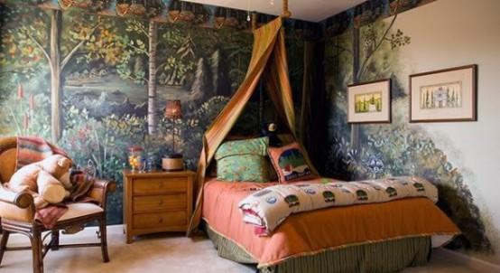 комната в стиле лагеря