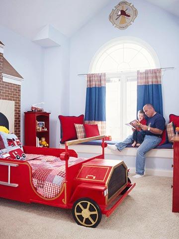 комната будущего пожарного