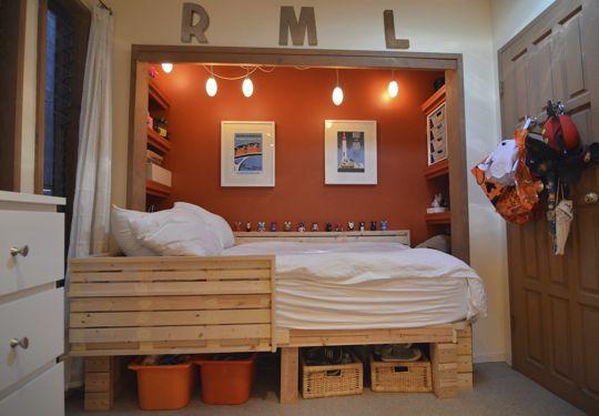 необычная спальня для мальчиков